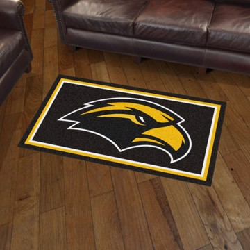 Picture of Southern Miss 3'x5' Plush Rug