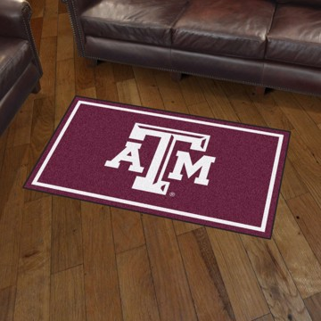 Picture of Texas A&M 3'x5' Plush Rug