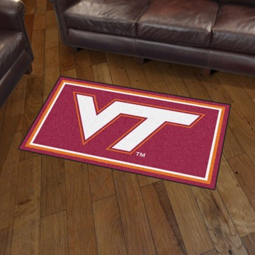 Picture of Virginia Tech 3'x5' Plush Rug