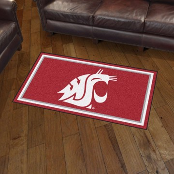 Picture of Washington State 3'x5' Plush Rug