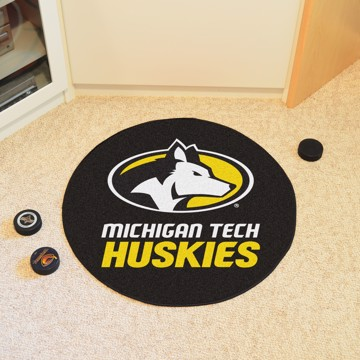 Picture of Michigan Tech Puck Mat