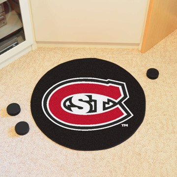 Picture of St. Cloud State Puck Mat