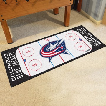 Picture of NHL - Columbus Blue Jackets Rink Runner