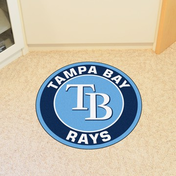 Picture of MLB - Tampa Bay Rays Roundel Mat