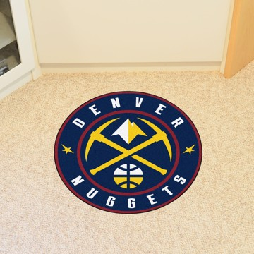 Picture of NBA - Denver Nuggets Roundel Mat