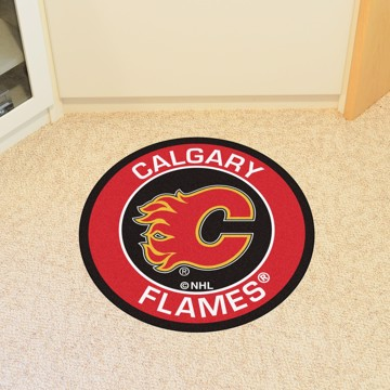 Picture of NHL - Calgary Flames Roundel Mat