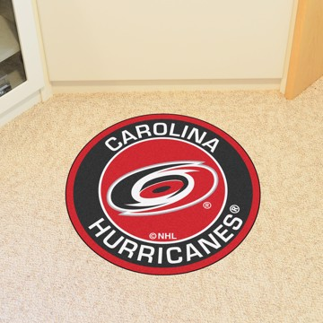 Picture of NHL - Carolina Hurricanes Roundel Mat
