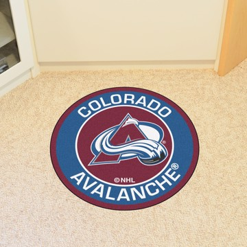 Picture of NHL - Colorado Avalanche Roundel Mat