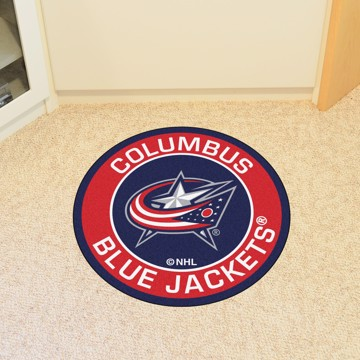 Picture of NHL - Columbus Blue Jackets Roundel Mat