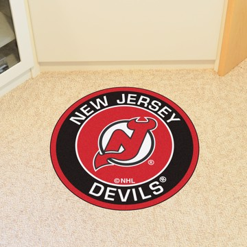 Picture of NHL - New Jersey Devils Roundel Mat