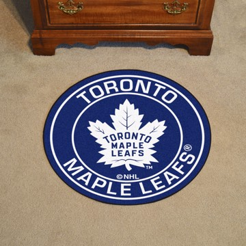 Picture of NHL - Toronto Maple Leafs Roundel Mat
