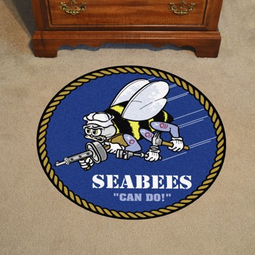 Picture of U.S. Navy Round Mat