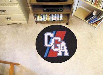 Picture of U.S. Coast Guard Academy Round Mat