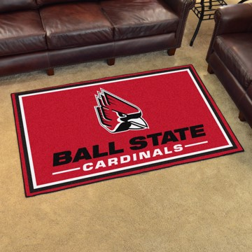 Picture of Ball State 4'x6' Plush Rug