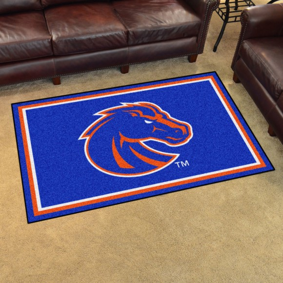 Picture of Boise State 4'x6' Plush Rug