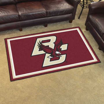 Picture of Boston College 4'x6' Plush Rug