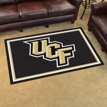 Picture of Central Florida (UCF) 4'x6' Plush Rug
