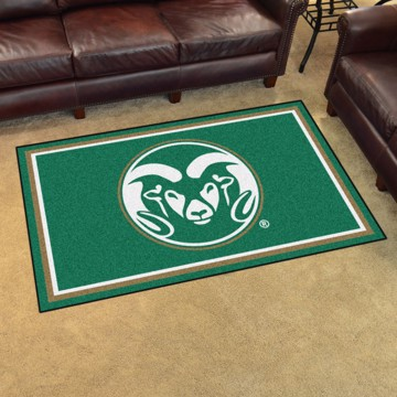 Picture of Colorado State 4'x6' Plush Rug