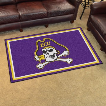 Picture of East Carolina 4'x6' Plush Rug