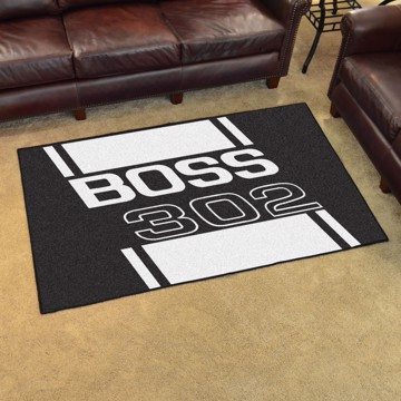 Picture of Ford - Boss 302 4'x6' Plush Rug