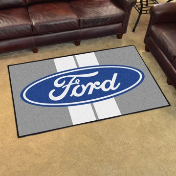 Picture of Ford 4'x6' Plush Rug