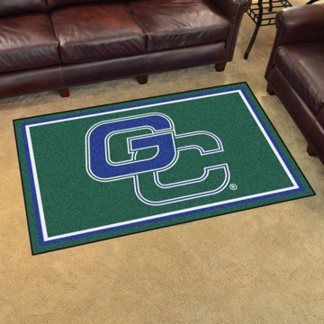 Picture of Georgia College 4'x6' Plush Rug