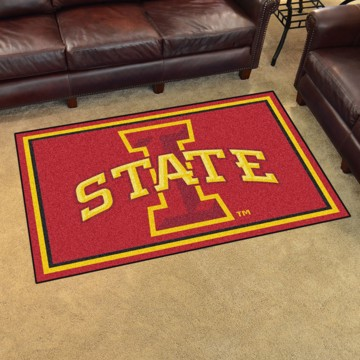 Picture of Iowa State 4'x6' Plush Rug