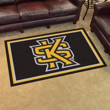 Picture of Kennesaw State 4'x6' Plush Rug