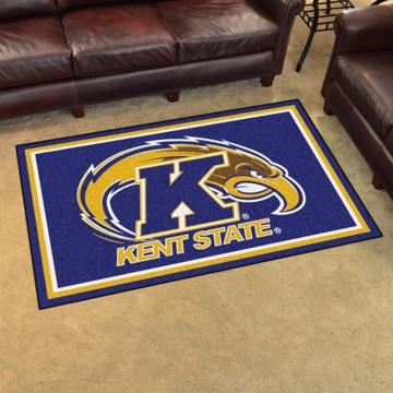 Picture of Kent State 4'x6' Plush Rug
