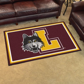 Picture of Loyola Chicago 4'x6' Plush Rug