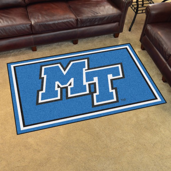 Picture of Middle Tennessee 4'x6' Plush Rug