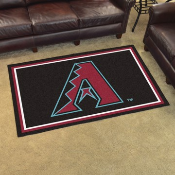 Picture of MLB - Arizona Diamondbacks 4'x6' Plush Rug