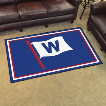 Picture of MLB - Chicago Cubs 4'x6' Plush Rug