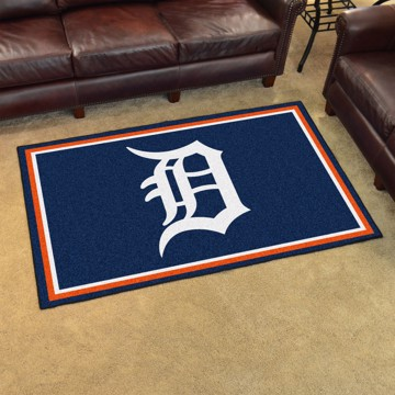 Picture of MLB - Detroit Tigers 4'x6' Plush Rug