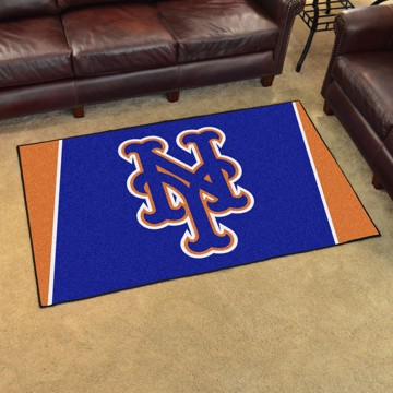 Picture of MLB - New York Mets 4'x6' Plush Rug