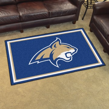 Picture of Montana State 4'x6' Plush Rug