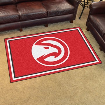 Picture of NBA - Atlanta Hawks 4'x6' Plush Rug