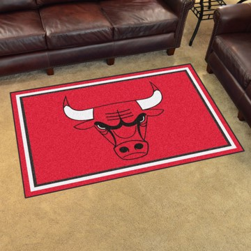 Picture of NBA - Chicago Bulls 4'x6' Plush Rug