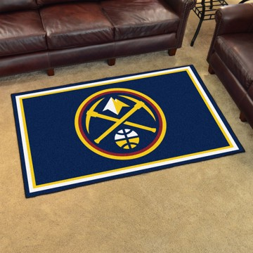 Picture of NBA - Denver Nuggets 4'x6' Plush Rug