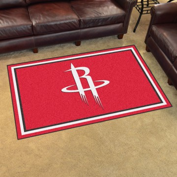 Picture of NBA - Houston Rockets 4'x6' Plush Rug