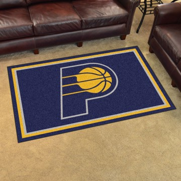 Picture of NBA - Indiana Pacers 4'x6' Plush Rug