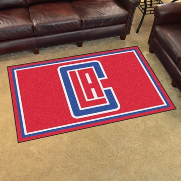 Picture of NBA - Los Angeles Clippers 4'x6' Plush Rug