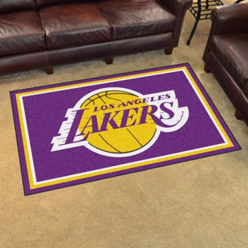 Picture of NBA - Los Angeles Lakers 4'x6' Plush Rug