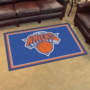 Picture of NBA - New York Knicks 4'x6' Plush Rug