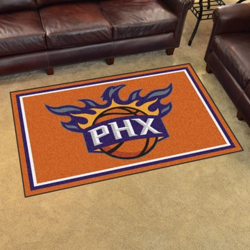 Picture of NBA - Phoenix Suns 4'x6' Plush Rug