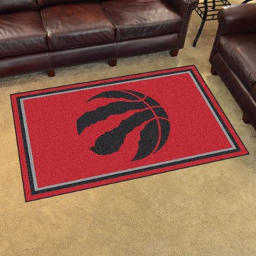 Picture of NBA - Toronto Raptors 4'x6' Plush Rug