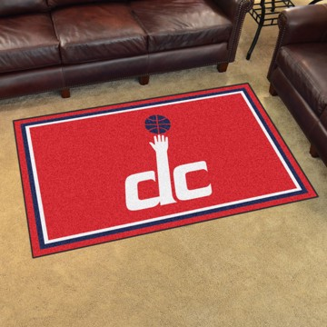 Picture of NBA - Washington Wizards 4'x6' Plush Rug
