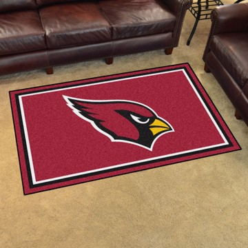 Picture of NFL - Arizona Cardinals 4'x6' Plush Rug