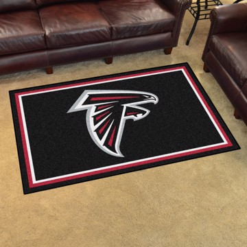 Picture of NFL - Atlanta Falcons 4'x6' Plush Rug