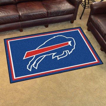 Picture of NFL - Buffalo Bills 4'x6' Plush Rug